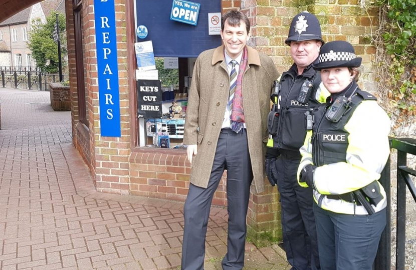 Extra policing to support Salisbury