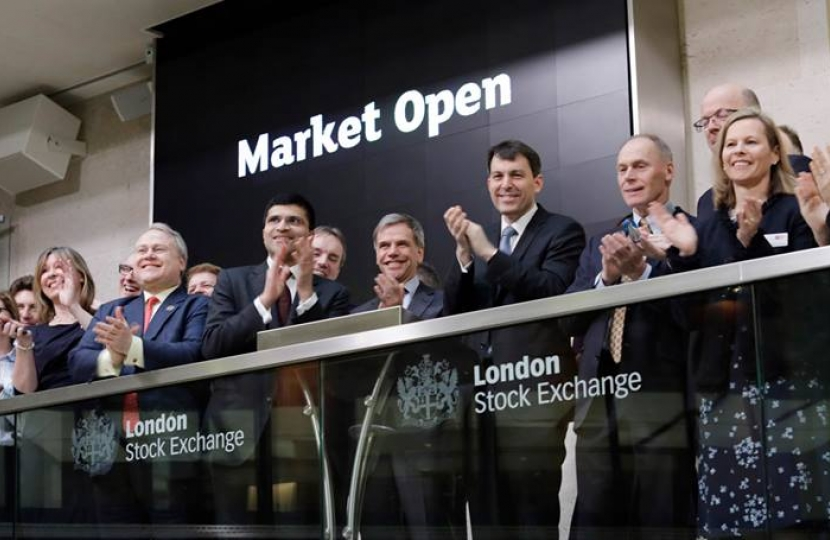 John at the London Stock Exchange